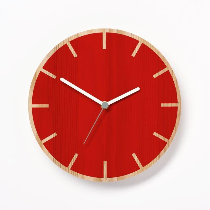 Primary Clock Cog | Red