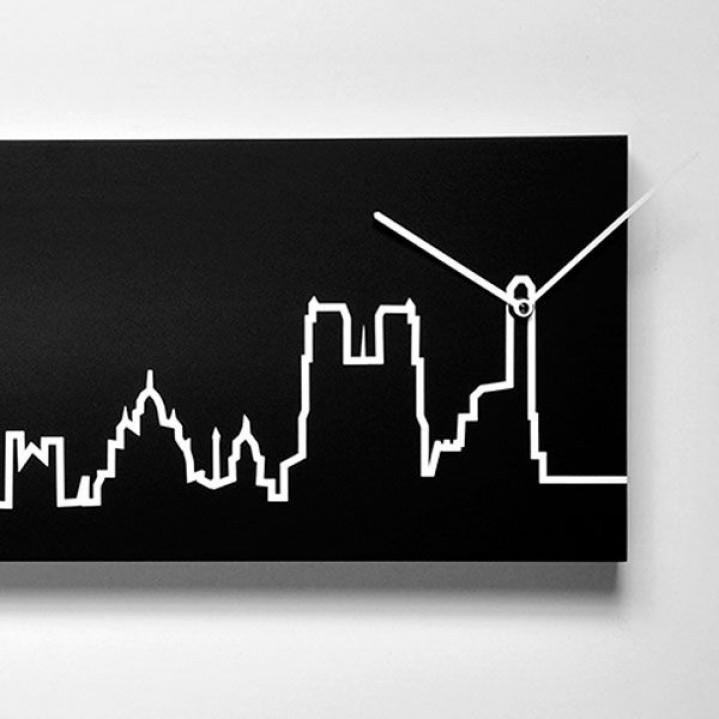 Skyline Clock   Paris