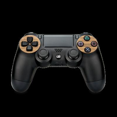 Walnussholz Cover für PlayStation 4 Controller