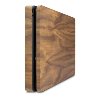 Walnussholz Cover für PlayStation 4 Slim
