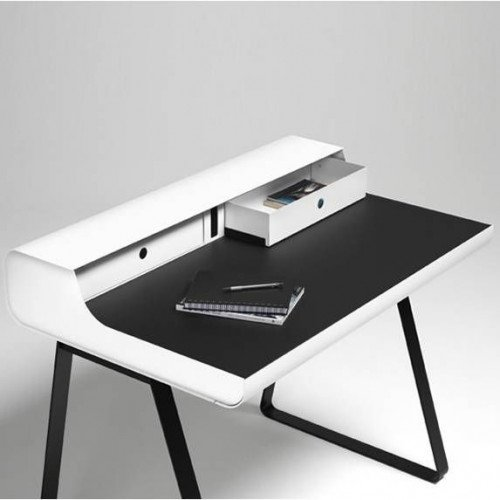 Schreibtisch PS 10 Essenz   Weiß