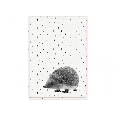Tea towel | Hedgehog
