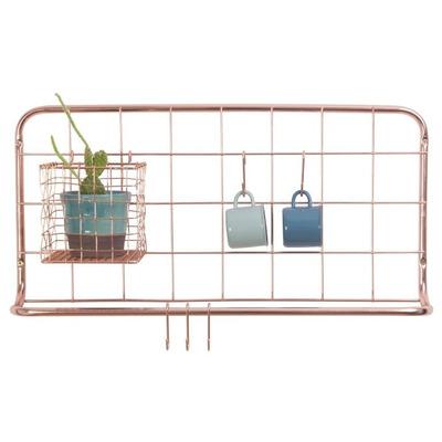 Küchenregal-Set Open Grid   Kupfer