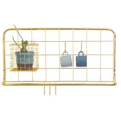 Küchenregal-Set Open Grid   Gold