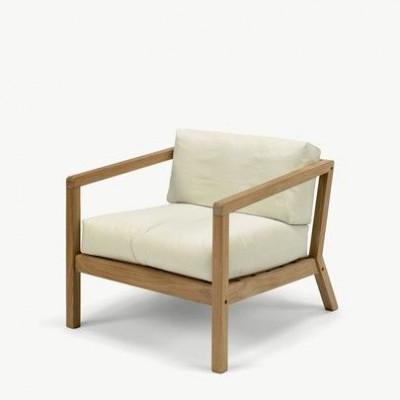 Outdoor Chair Virkelyst | Eggshell