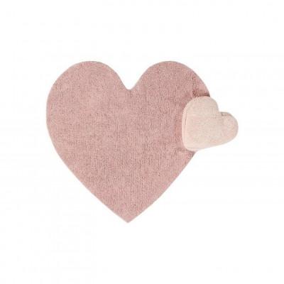 Waschbarer Teppich | Puffy Love Nude