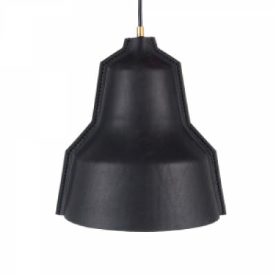 Lloyd Lamp   Black Leather