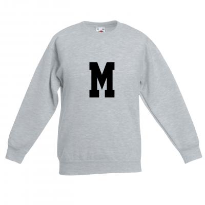 Kinder-Pullover M | Grau