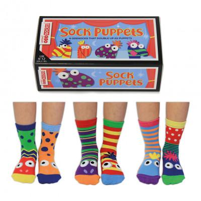 Socken Marionetten   6er-Set