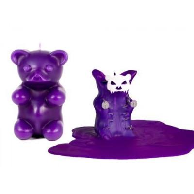 Gummy  Bear Candle - Purple