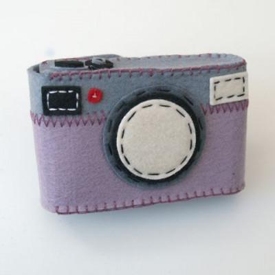 Camera Case Holder Purple