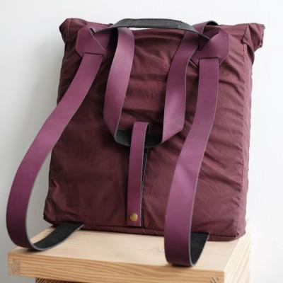 Commuter Bag | Burgundy