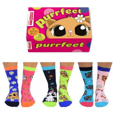 Socken Purrfect   6er-Satz