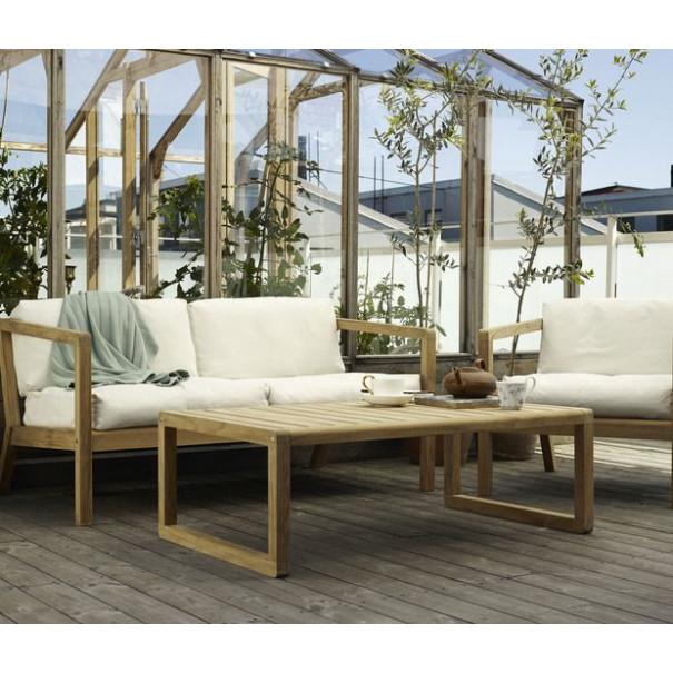 Outdoor-Sofa Virkelyst   Gelbe Streifen