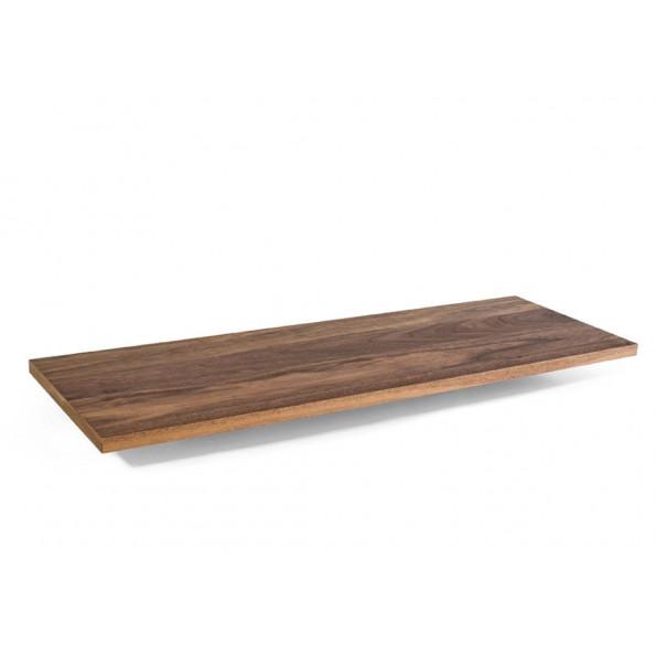 Shelf L 80 x 27 | Walnut
