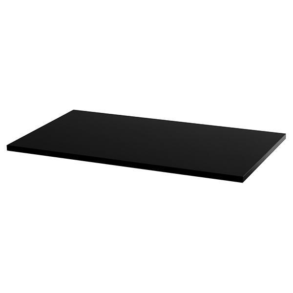 Schreibtischplatte Pythagoras   Schwarz