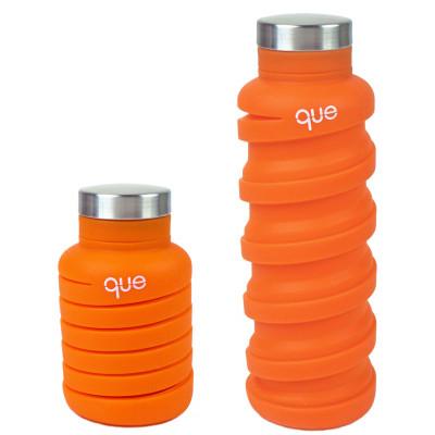 Zusammenklappbare Wasserflasche   Orange