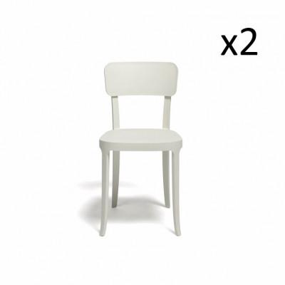 Stuhl K. 2er-Satz | Weiß