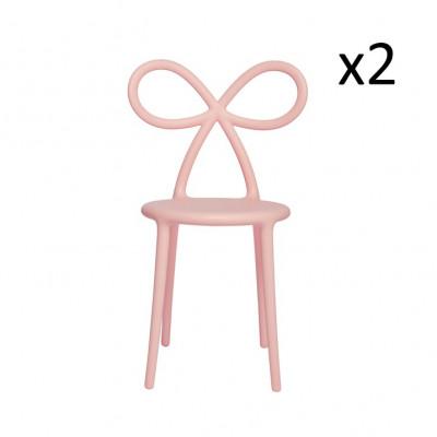 Stuhl-Farbbandsatz 2er-Set | Rosa