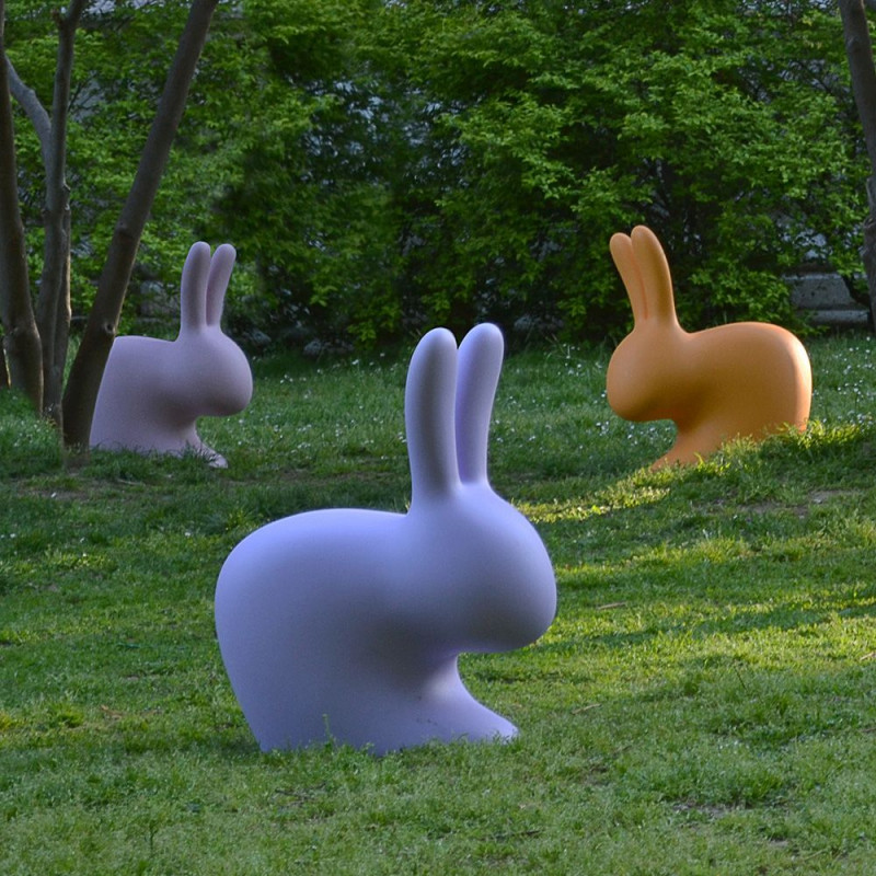 Kinderstuhl Kaninchen Baby   Hellblau
