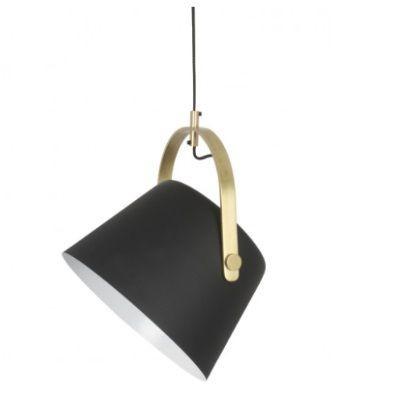 Jane Metal Pendant Lamp   Matte Black