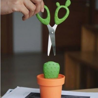 Schere Kaktus   Orange/Grün