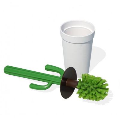 Toilettenbürste Cacbrush | Weiß/Grün