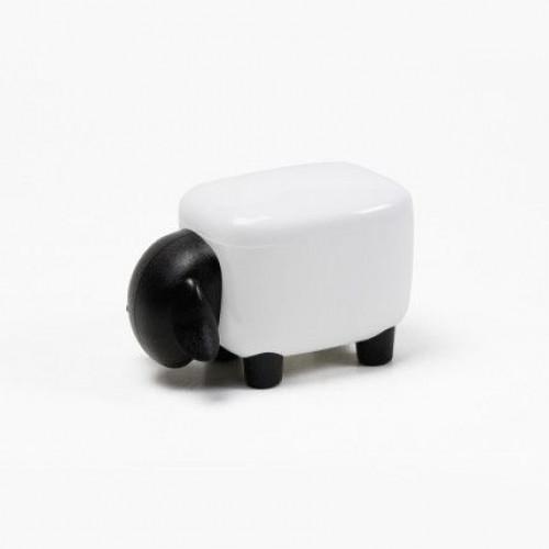 Schachtel Mini-Schaf | Schwarz-Weiß