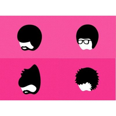Set of 4 Mixed Mac Book Stickers