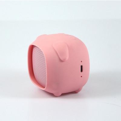 Bluetooth Speaker Piggie   Pink