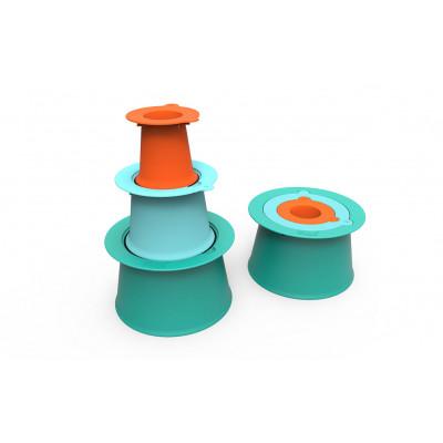Strandspielzeug | Alto Bauen wie ein Profi | Vintage Blue & Mighty Orange