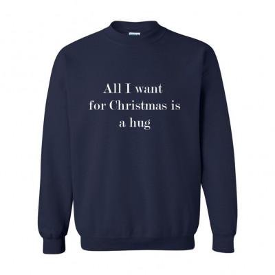 Unisex Sweater Hug   Blau