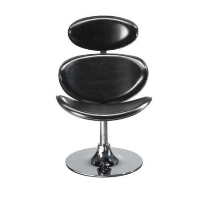 Curve Lounge Chair - Schwarz