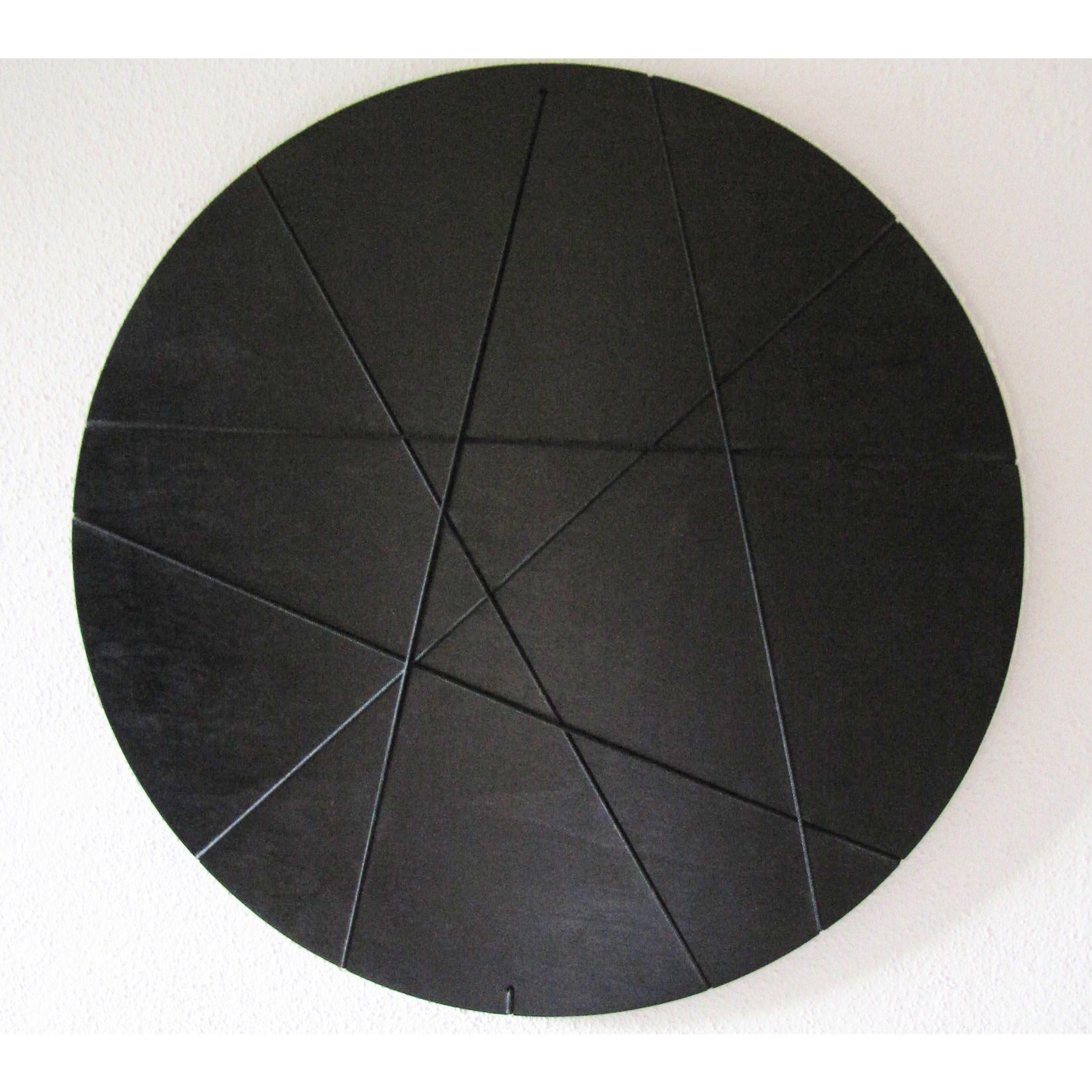 Fotokader Zwart Cirkel
