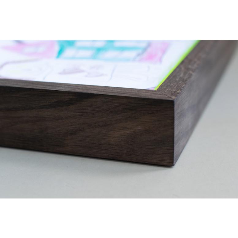 RAM'N Frame   Smoked Oak Green Acryl