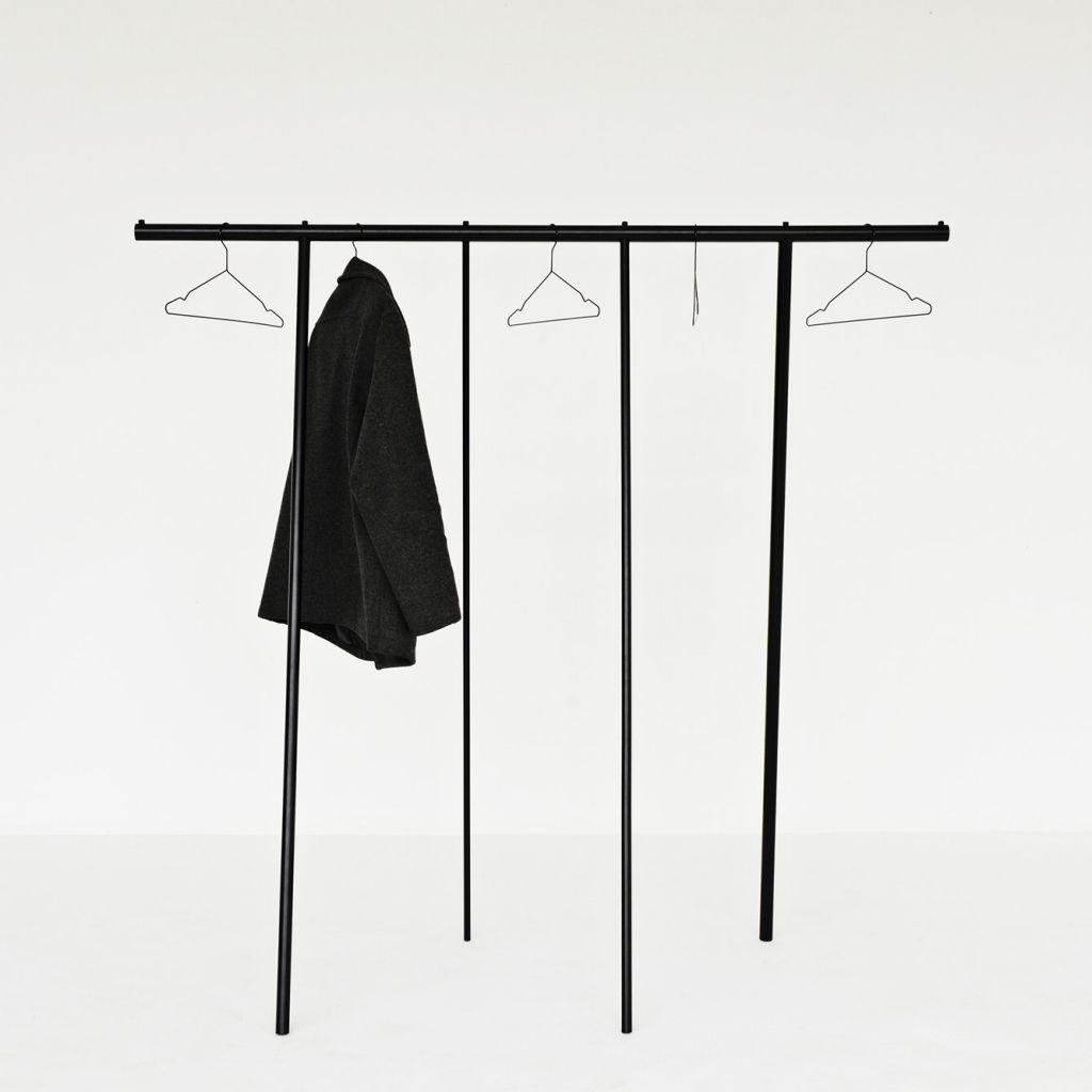 Clothing Rack Wardrobe | Black