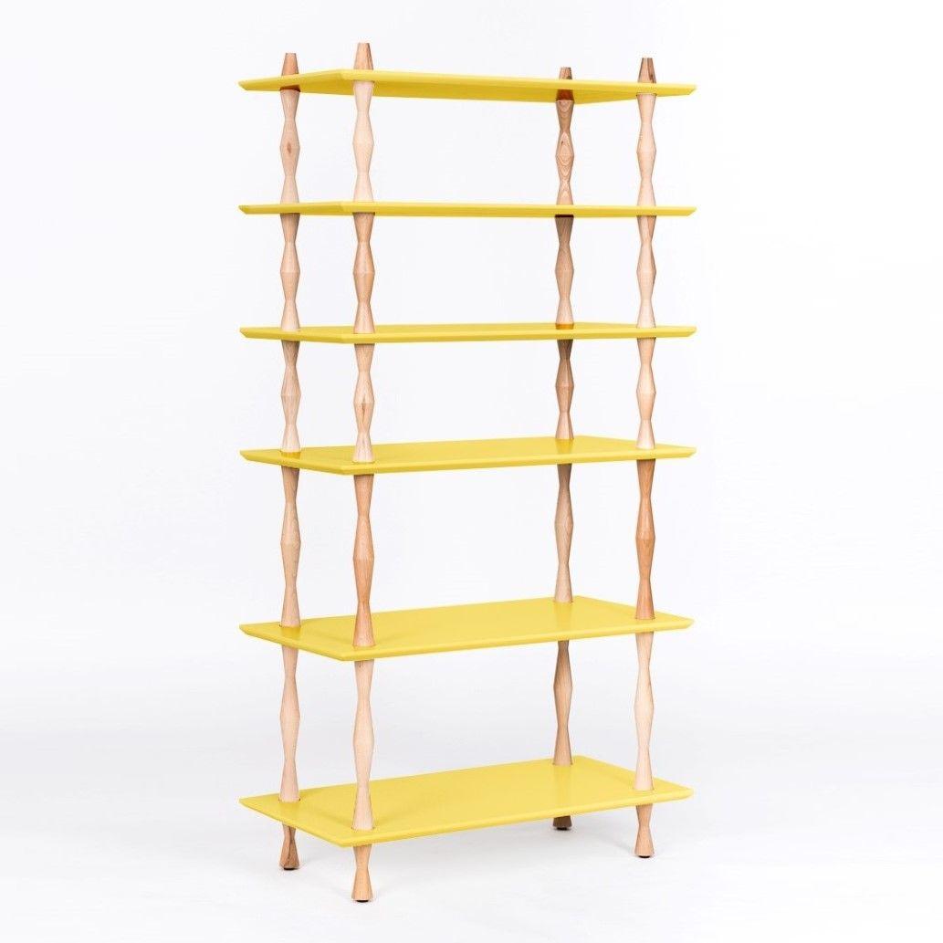 Bookshelf KORRO   Yellow