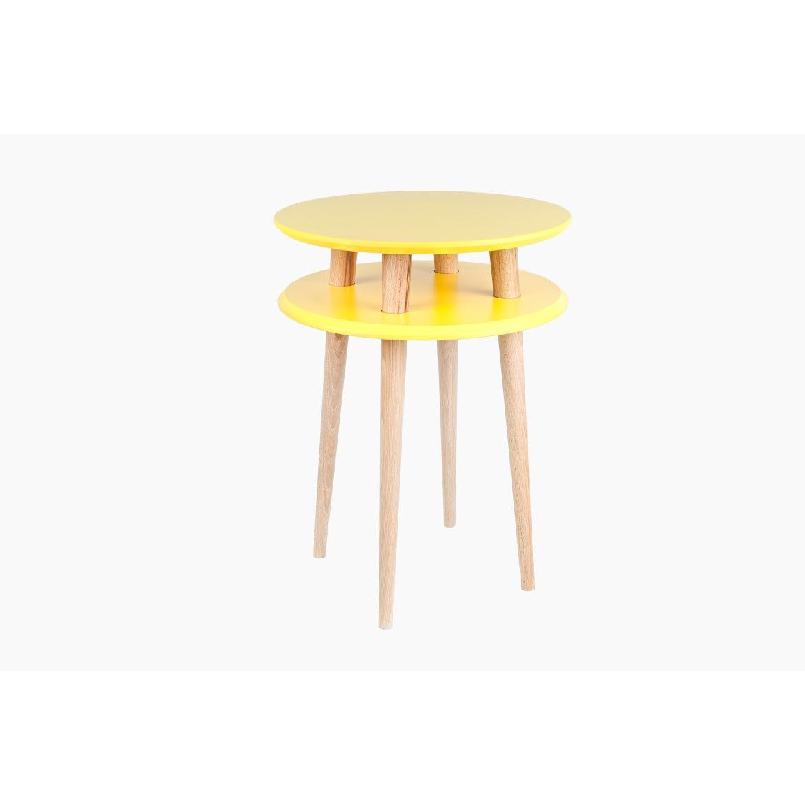 UFO Round Coffee Table   Yellow