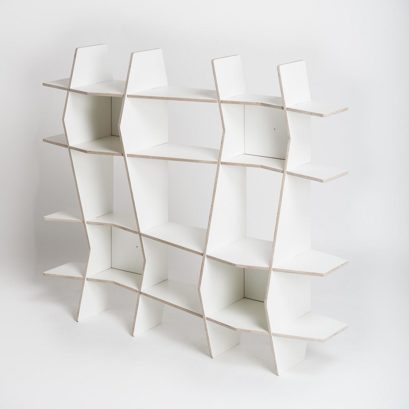 Shelf Wav | White Film Plywood