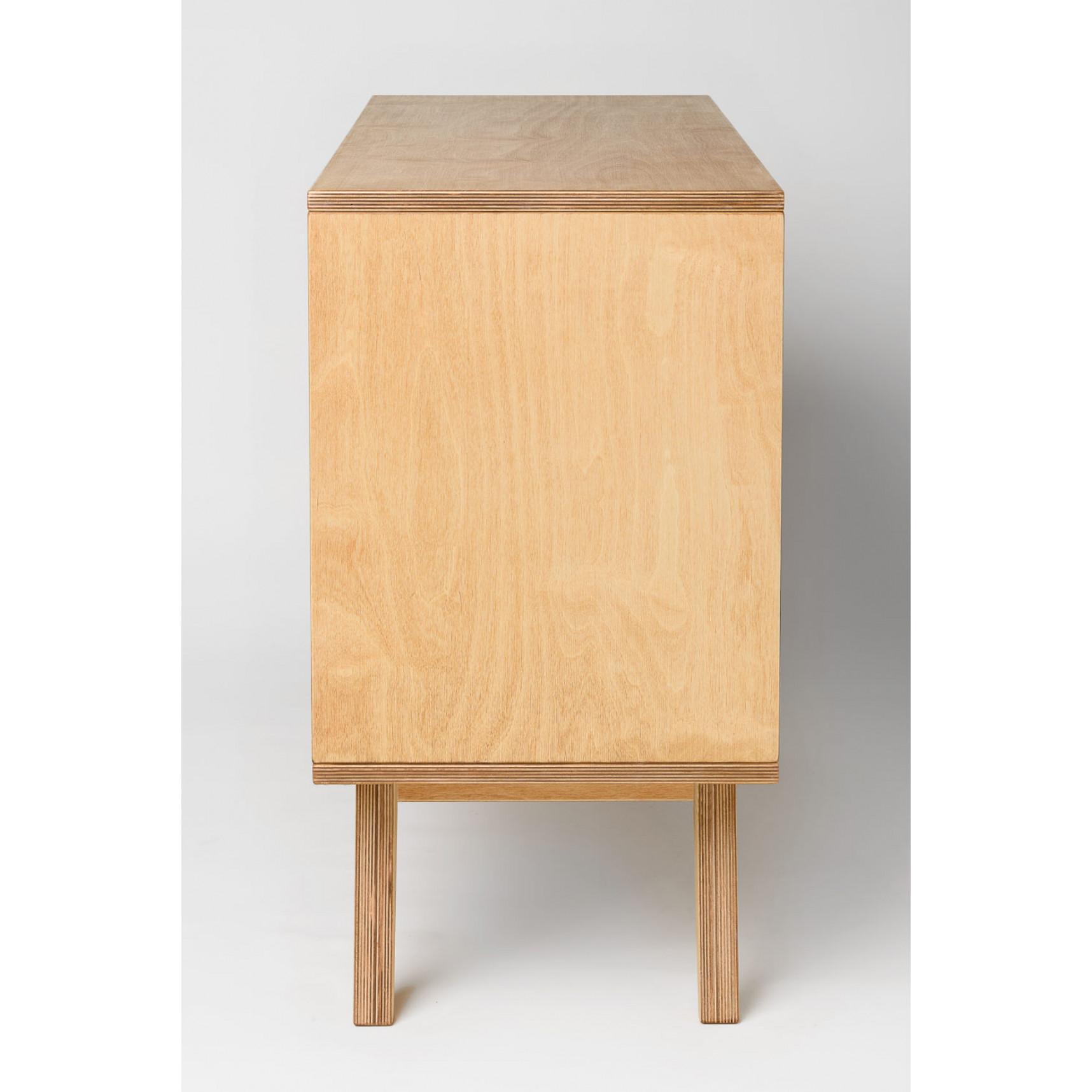 Sideboard SoSixties 2 Doors | Oak + White Oilwaxed