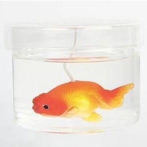 Candle Ranchu Goldfish Orange | Cranberry & Lavender & White Peach