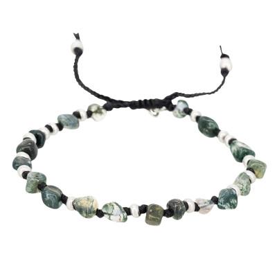 Armband mit Steinen | Aquatic