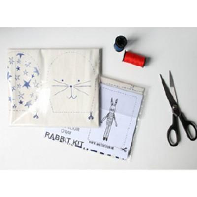 Ein Satz von 2 I Love Paris Rabbits-Kits