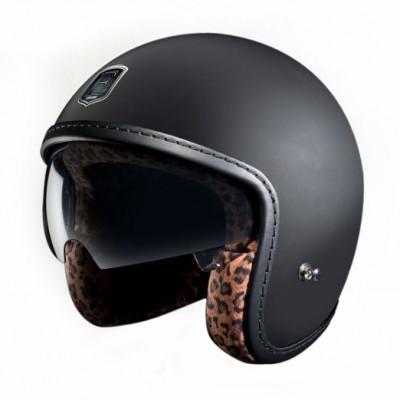 Racer | Mattschwarz Leopard