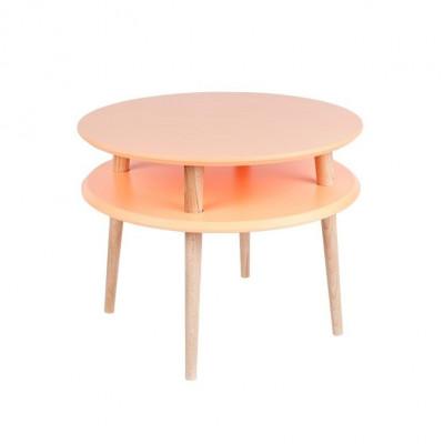 UFO Runder Couchtisch | Orange