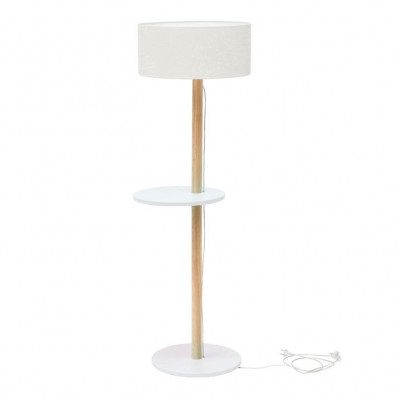 UFO Lamp | White Shade + White Shelves