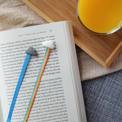 Bookmarks | Set of 2 | Rainbow