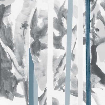 Tapeten Regentropfen | Blau