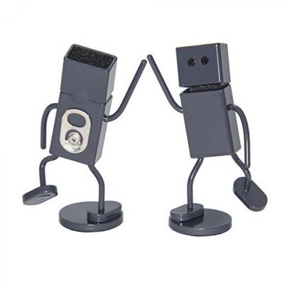 DrunkRobot Ideaholder | Grau