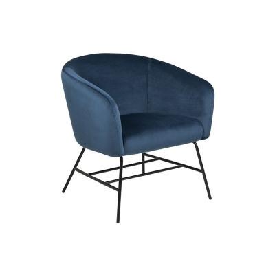 Ruhender Stuhl Rolf | Marineblau